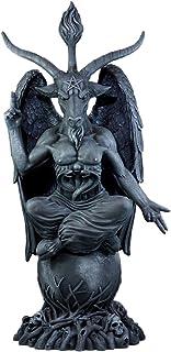 Ebros Faux Stone 3 Feet Oversized Church of Satan Sabbatic Goat Baphomet Statue Satanic Occultic Idol Sculptural Wonder