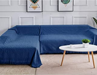 Rose Home Fashion Sectional Couch Covers Sectional Sofa Cover 2 Pieces L Shaped Couch Covers Sectional Couch Cover Couch C...