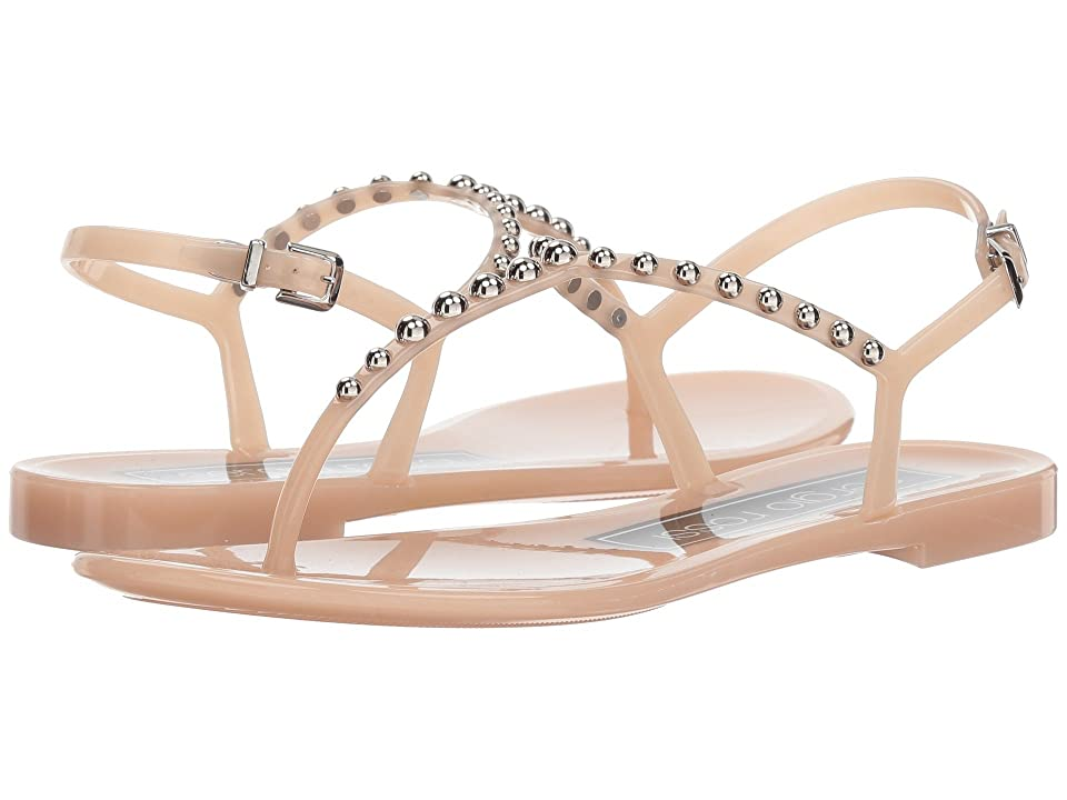 Sergio Rossi A80820-MFN292 (Nude/Nickel Jelly) Women