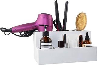 Spiretro Hair Tools Organizer, Hair Dryer Care Styling Straightener, Flat Iron, Curling Wand, Brushes Holder, Caddy Storag...