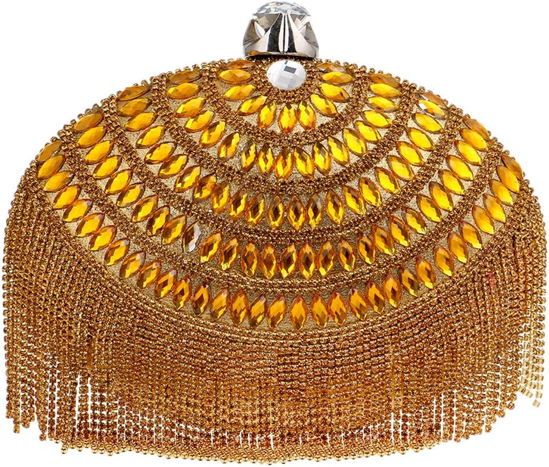 Santimon Luxus Clutches Damen Abendtasche Handtasche Abend Handtaschen Diamant Diamant Diamant Unterarmtasche Hochzeit Party Tasche B07HKCX99G  Geeignet für Farbe 618fc4