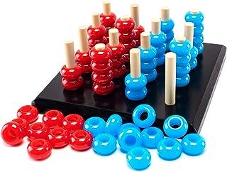 TOYARTs 立体四目並べ 3D Four Eyed RED-BLUE Game (ノーマル)
