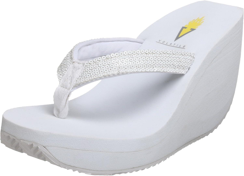Volatile Women's Sprinkles Wedge Thong Sandal