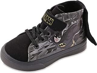 Batman Boys Lighted Hi Top Sneakers Toddler/Little Kid Black