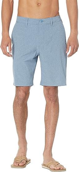 """Union Heather Amphibian 20"""" Shorts"""