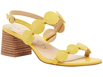 SOLE / SOCIETY Shivaughn (Chrome Yellow) Women