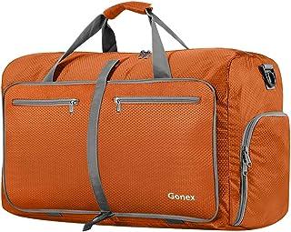 6d4d740976 Gonex Sac de Voyage 40L Sac Pliable Sac Imperméable Pliant pour Camping  Randonnée Voyage Orange