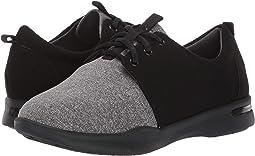 Black/Grey Lycra/Microfiber