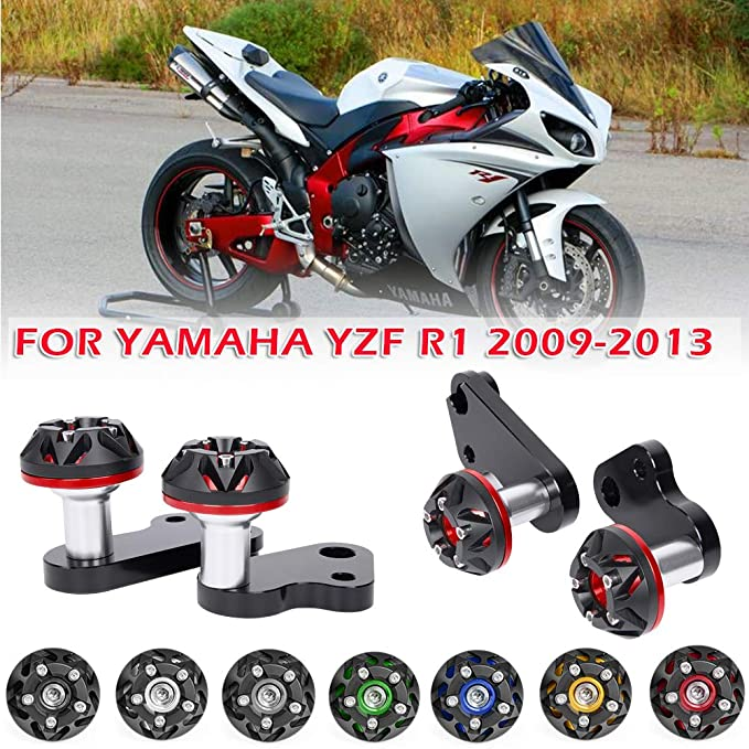 R/&G Racing Bar End Sliders Yamaha YZF-R1 2008 2009 2010  BE0009BK