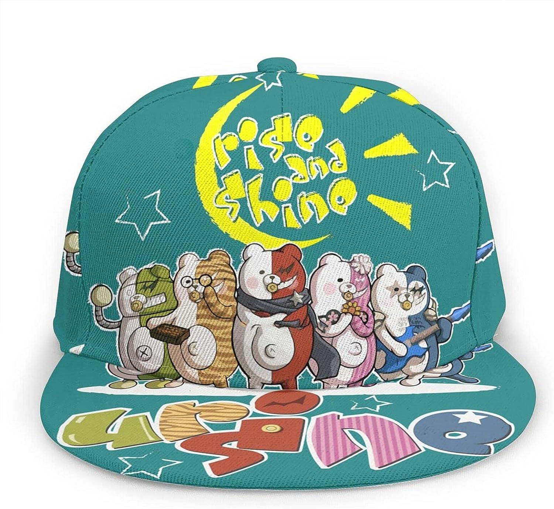 BLESS LINEN Anime Danganronpa Monokuma Athletic Baseball Cap Dad Hat Ball Hat Cowboy Hat Beach Sun Hat