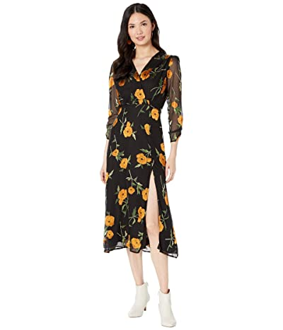 ASTR the Label Joni Dress (Orange Blossom Floral) Women