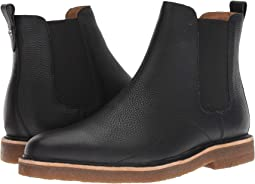Pebbled Leather Chelsea Boot w/ Crepe Sole