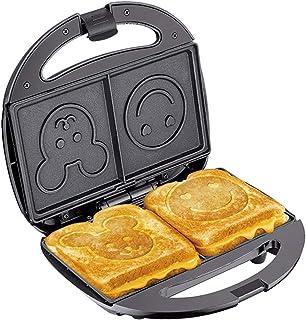 Petit déjeuner Machine, Grille-Pain, Sandwich Petit Déjeuner Multifonctionnel en Acier Inoxydable Grille-Pain Multifonctio...