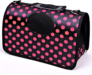 Pets Empire Fabric Dog Crate Airline Approved Pet Dog Travel Carrier Kennel Cat Dog Comfort Travel Cage Bag Durable and Br...