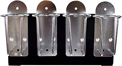 Universal Quad Clipper Trimmer Holder Organizer Barber Stylist Tools Fits Wahl Andis Oster