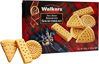 Walker's Shortbread Pure Butter Shortbread Assorted Cookies 8.8 Ounce (Pack of 6)
