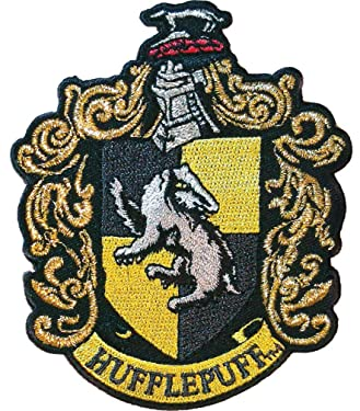 Ata-Boy Harry Potter Hufflepuff House Crest Officially Licensed Patch, Pin and More!