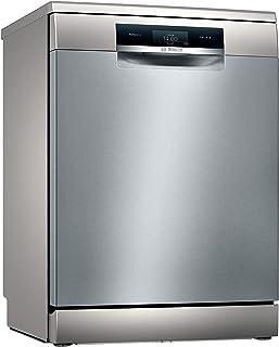 Lave-vaisselle autoportant Bosch SMS8YCI01E série 8 - Largeur : 60 cm - Acier inoxydable - 65 kWh/100 cycles - 14 MGD - Su...