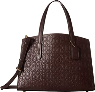 COACH Women's Signature Leather Charlie Carryall