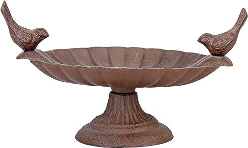 Beeztees Bain d'Oiseau en Alliage Fonte 20 x 14 x 8 cm