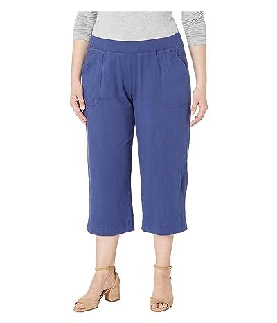 Fresh Produce Plus Size Key Largo Capris (Moonlight Blue) Women