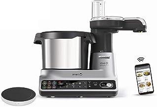 Kenwood kCook Multi Smart CCL450SI - Robot de cocina multifunción con WiFi controlable con una App desde el móvil, con +600 recetas gratuitas, balanza integrada, 1500 W, capacidad 4.5 L