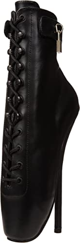 Devious BALLET-1025 Blk Leather UK 7 (EU 40)