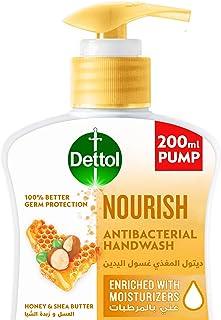 Dettol Nourish Handwash Liquid Soap Pump for effective Germ Protection & Personal Hygiene (protects against 100 illness ca...