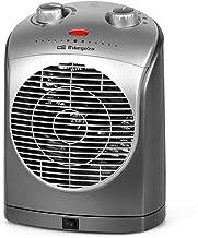 Orbegozo FH 5022 - Calefactor, oscilante, 2 niveles de potencia, función ventilador aire frío, calor instantáneo, termostato regulable, 2200 W