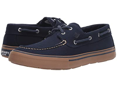 Sperry Bahama II Storm Duck Canvas (Navy) Men