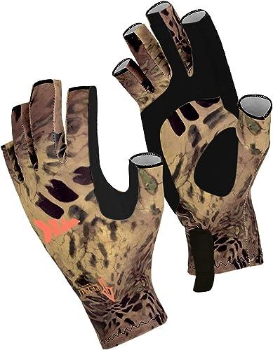 KastKing Sol Armis Sun Gloves UPF50+ Fishing Gloves UV Protection Gloves Sun Protection Gloves Men Women for Outdoor,...