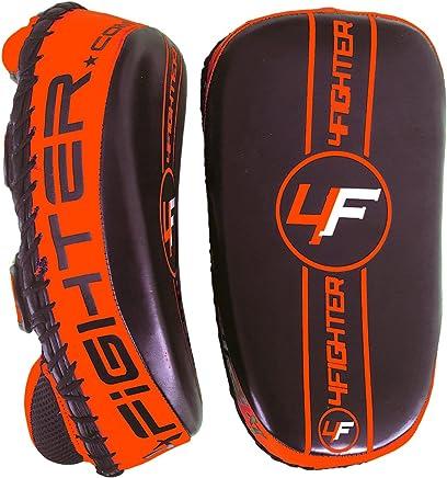 4Fighter PAO Leder Kick Thai Pads Pratzen Handpratzen schwarz-Orange schwarz-Orange schwarz-Orange B00CNWENRY     | Mittel Preis  070e9d