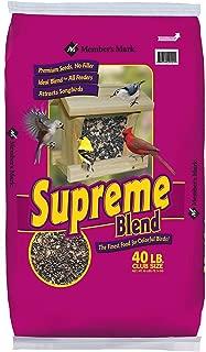 Member's Mark Supreme Blend Wild Bird Food 40 lbs