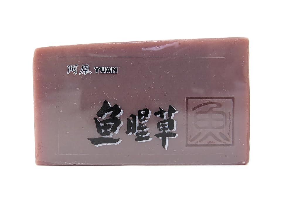 カヌー怠けた確保するユアン(YUAN) ドクダミソープ 固形 100g (阿原 ユアンソープ)
