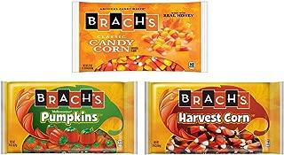 Brachs Candy Corn, Harvest Indian Corn, Mellow Creme Pumpkins - 1 Package of Each Flavor -The Perfect Autumn Mix Of Brachs Favorites (3 - 20 oz Bags - 60 oz Total)