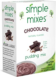 Simple Mixes Pudding Mix, Chocolate, 6 Count (Pack of 6)