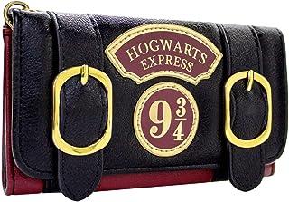 Harry Potter Poudlard Express Double Boucle Noir Portefeuille