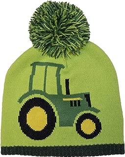 Boys' Winter Cap, Lime Green, Toddler