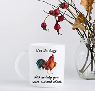 Crazy Chicken Lady Coffee Mug - Christmas Gift