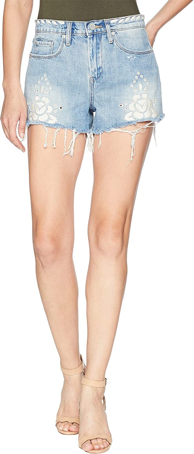 [BLANKNYC] Blank NYC Womens The Barrow High Rise Short in Garden Party