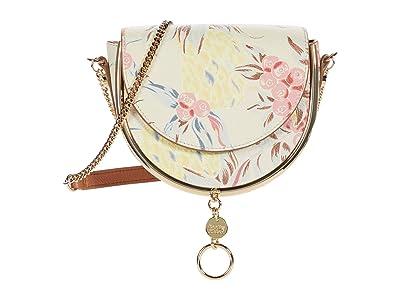 See by Chloe Mara Clutch (Cement Beige) Handbags