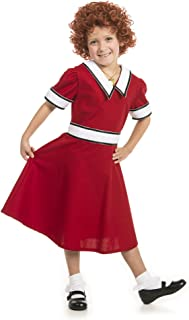 Little Orphan Annie Costume with Wig Youth/Child