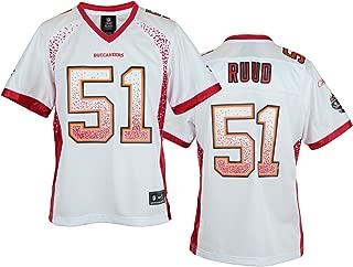Reebok NFL Womens Tampa Bay Buccaneers Barrett Ruud #51 Fashion Jersey, White