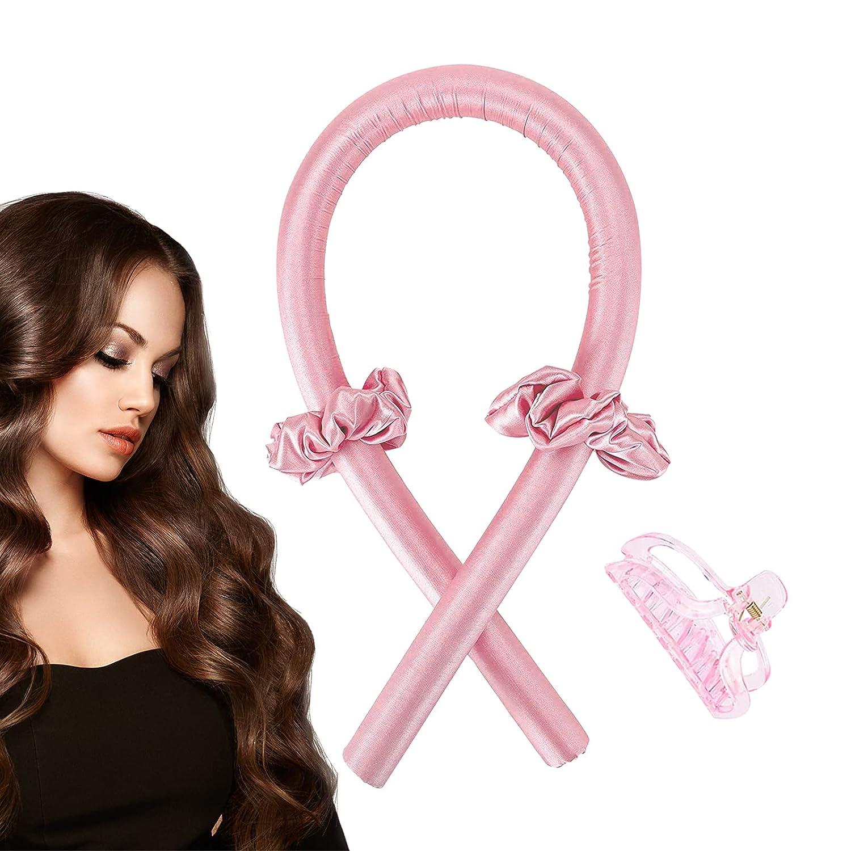Heatless Hair Curlers,No Heat Headband New Shipping Las Vegas Mall Free and Curls Silk