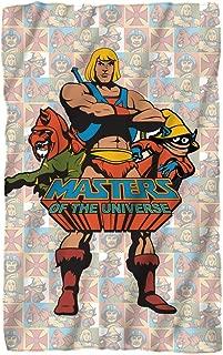Masters Of The Universe Heroes Fleece Blanket