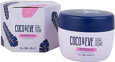 Coco and Eve Glow Figure Bali Buffing Sugar - Exfoliating Body Scrub for Women | Coconut Sugar Scrub (8.5 oz)