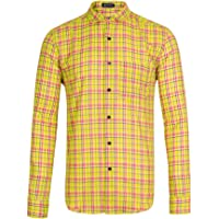 Mculivod Long Sleeve Plaid Flannel Winter Warm Men's Shirt