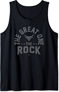 WWE The Great One The Rock Vintage Fight Type Débardeur