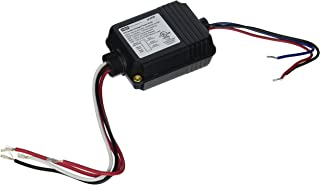 Hubbell Building Automation UVPP Universal Voltage Power Supply for Low-Voltage OMNI and LightHAWK Occupancy Sensors, Black