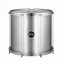 "Meinl Percussion 18"" Bahia Surdo with Aluminum Shell - NOT MADE IN CHINA - Equipped with Napa and Synthetic Heads, 2-YEAR WARRANTY (SUB18)"